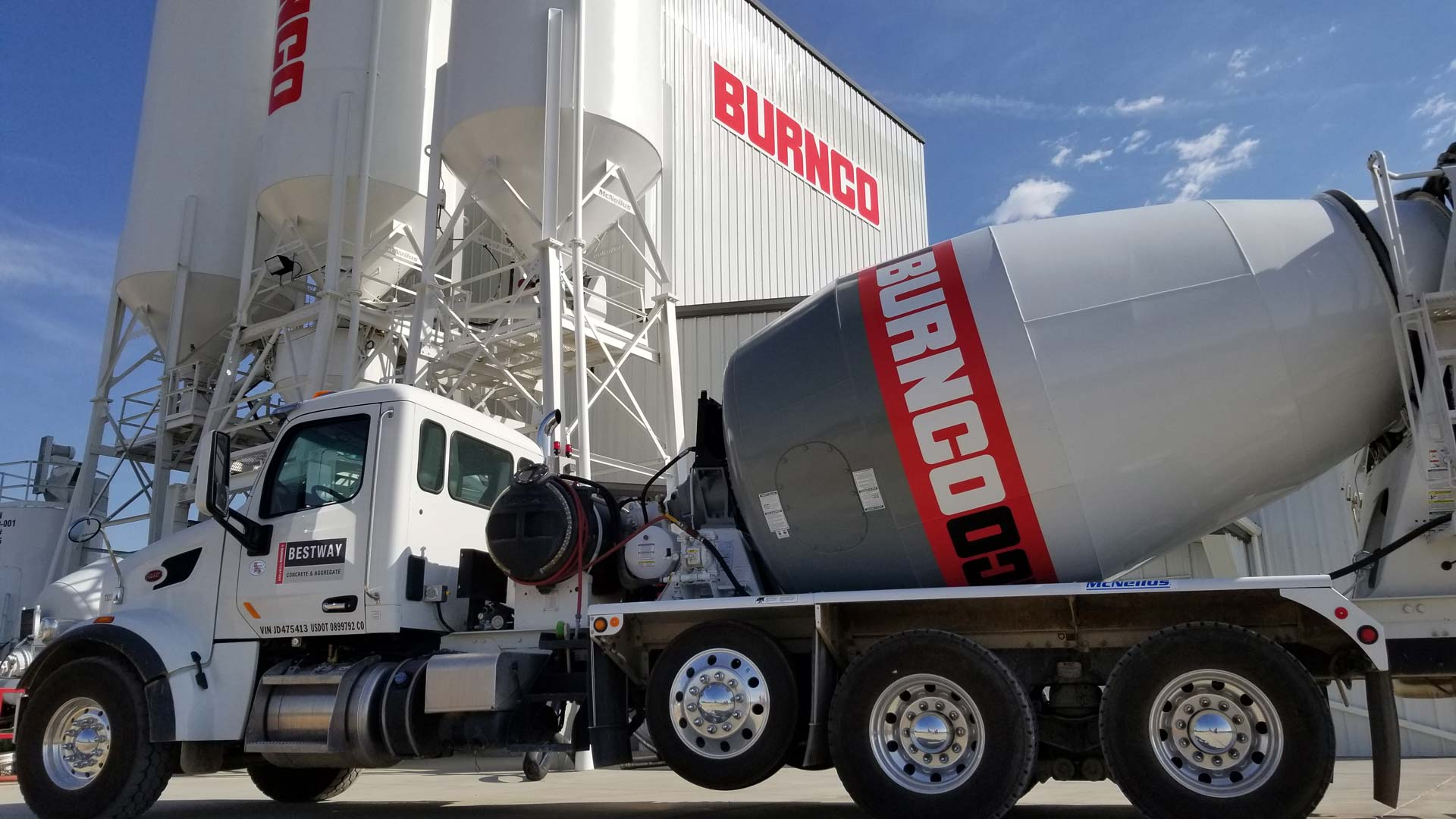 BURNCO Colorado | Blender & Company Concrete and Aggregate Truck