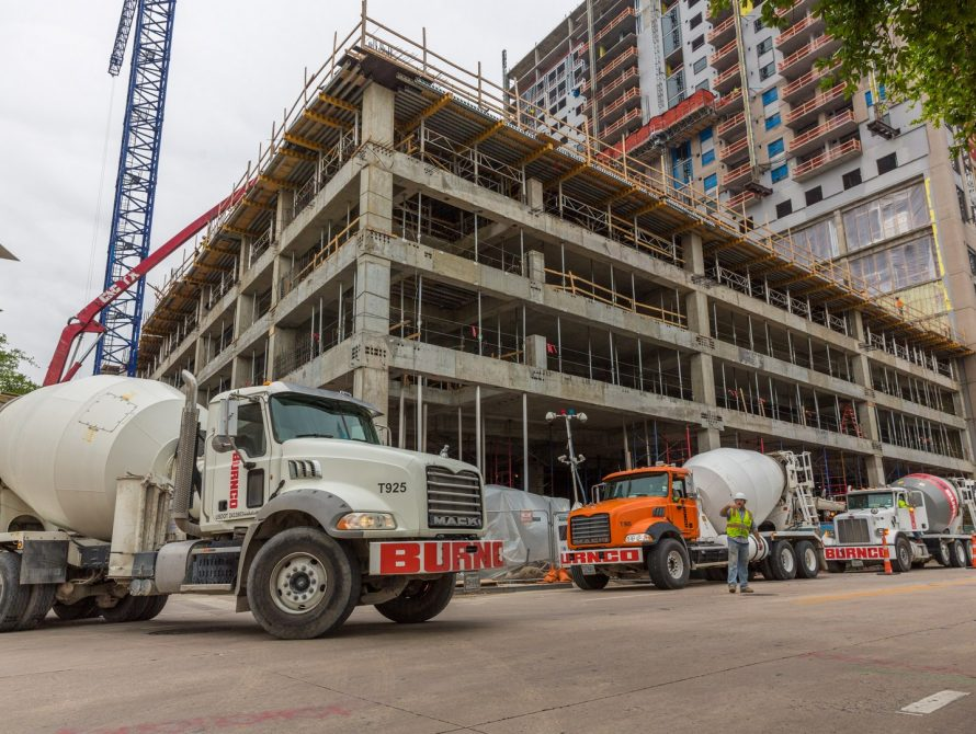 BURNCO Commerical Concrete Aggregate Projects