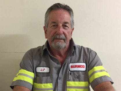 July Employee of the Month:  James Perrett